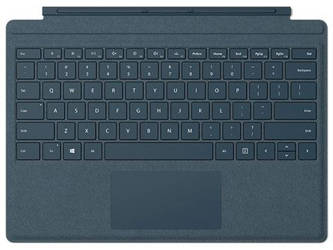 Microsoft タブレットケース Surface Pro Signature タイプ カバー FFP-00039 [コバルトブルー]