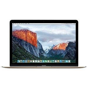 APPLE Mac ノート MacBook Retinaディスプレイ 1300/12 MNYL2J/A [ゴールド]