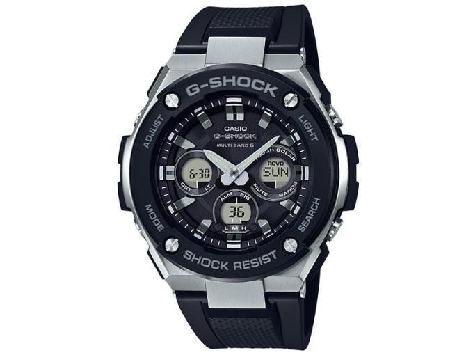 CASIO 男性向け腕時計 G-SHOCK G-STEEL GST-W300-1AJF
