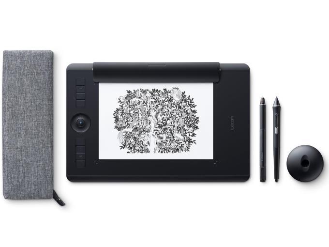 ワコム ペンタブレット Intuos Pro Paper Edition Medium PTH-660/K1 [ブラック]