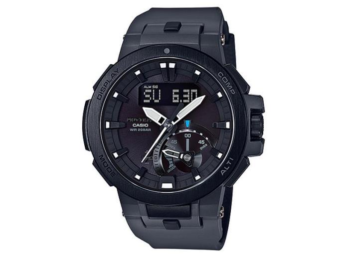 CASIO 男性向け腕時計 プロトレック トリプルセンサー タフソーラー PRW-7000-8JF, ヌカタチョウ:eafe5a66 --- fvf.jp