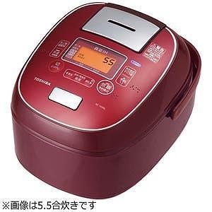 TOSHIBA 炊飯器 RC-18VRL-RS真空IH RC-18VRL(RS) [ディープレッド]