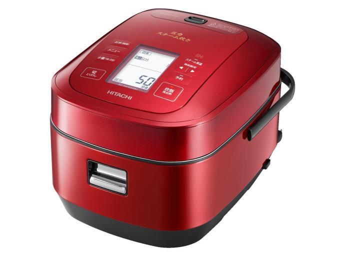 【特価品、箱に難あり、必ずご注文前に商品説明をお読みください】HITACHI 炊飯器 打込鉄・釜 ふっくら御膳 RZ-AW3000M(R) [メタリックレッド]【KK9N0D18P】