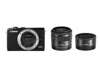 CANON デジタル一眼カメラ EOS M100 W LENS KIT/BK