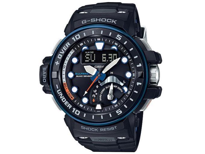 CASIO 男性向け腕時計 GWN-Q1000A-1AJF
