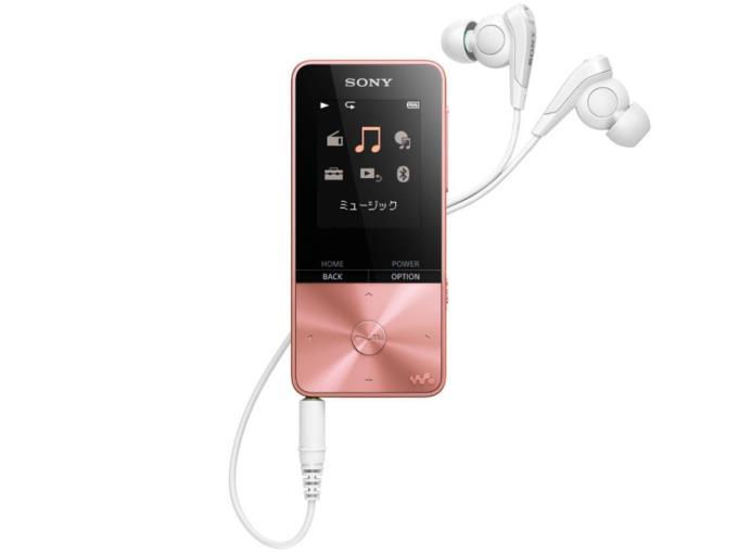 SONY デジタルオーディオプレーヤー CNW-S315 (PI) [16GB ライトピンク]