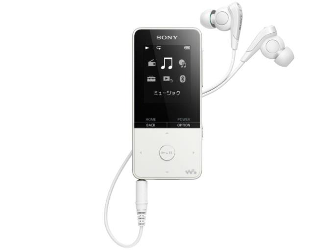 SONY デジタルオーディオプレーヤー NW-S315-W [16GB ホワイト]