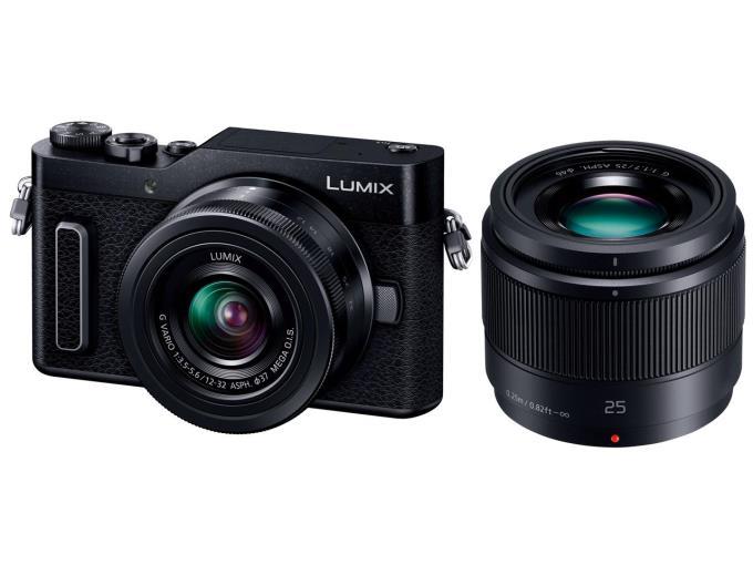 Panasonic デジタル一眼カメラ LUMIX DC-GF10W-K ダブルレンズキット [ブラック]