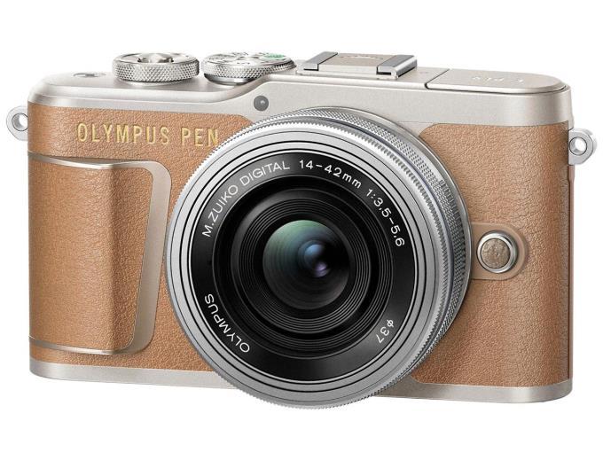 OLYMPUS デジタル一眼カメラ PEN E-PL9 14-42mm EZレンズキット/BRW [ブラウン]