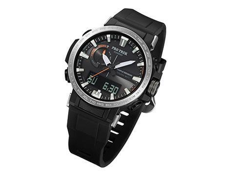 CASIO 男性向け腕時計 プロトレック トリプルセンサー タフソーラー PRW-60Y-1A