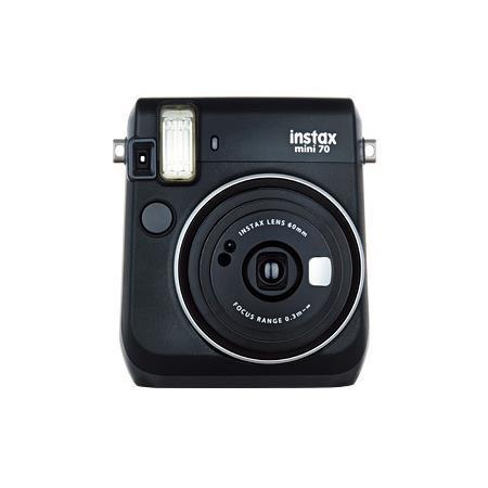 FUJIFILM インスタントカメラ INS MINI 70N BLACK チェキ [ブラック]