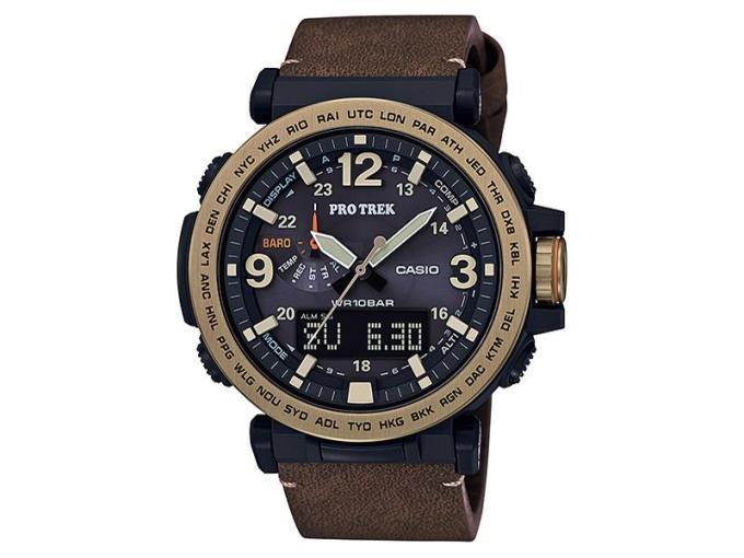 CASIO 男性向け腕時計 プロトレック トリプルセンサー タフソーラー PRG-600YL-5JF