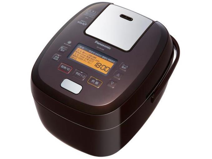 Panasonic 炊飯器 おどり炊き SR-PA108-T [ブラウン]