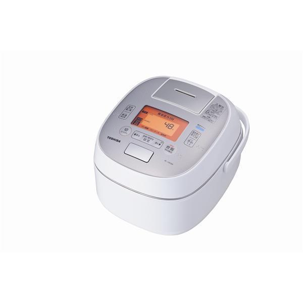 TOSHIBA 炊飯器 RC-10VSM-W真空圧力IH RC-10VSM(W) [グランホワイト]