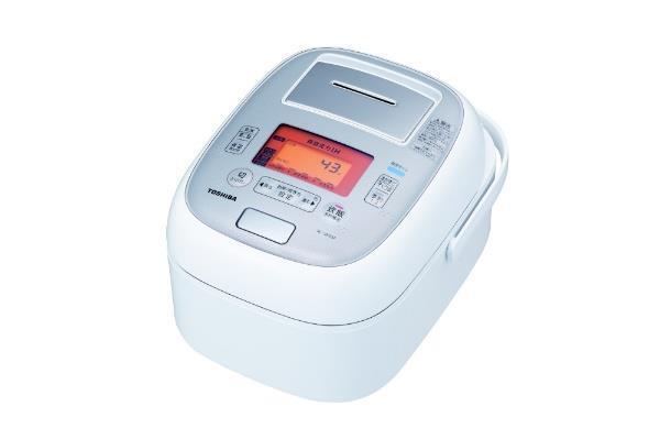 TOSHIBA 炊飯器 真空圧力IH RC-18VXM-W [グランホワイト]