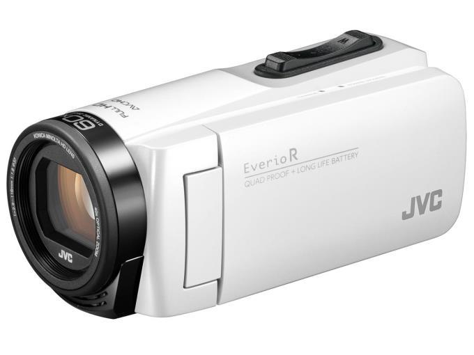 JVC ビデオカメラ Everio R GZ-R480-W [シャインホワイト]