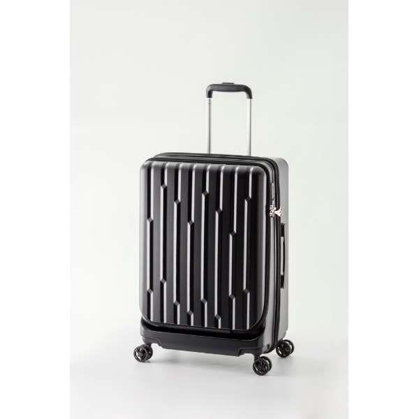 A.L.I(アジアラゲージ) スーツケース・キャリーケース ハードキャリー GALE-F24-BK ブラック [60L]