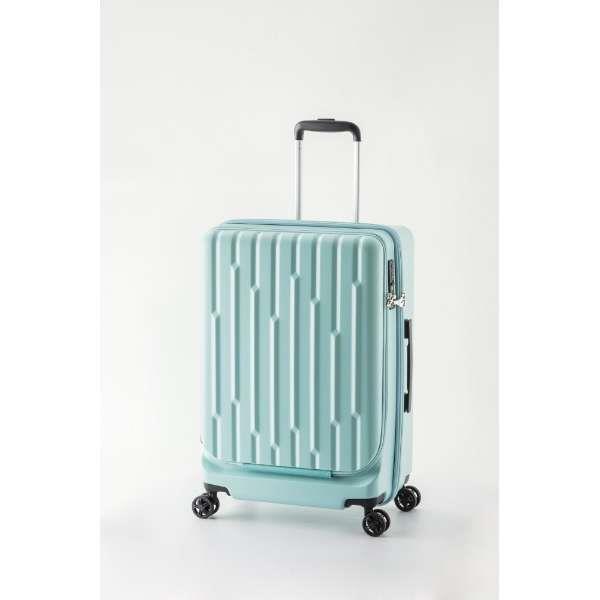 A.L.I(アジアラゲージ) スーツケース・キャリーケース スーツケース 36L TSAロック搭載 GALE-F18-LB ライトブルー