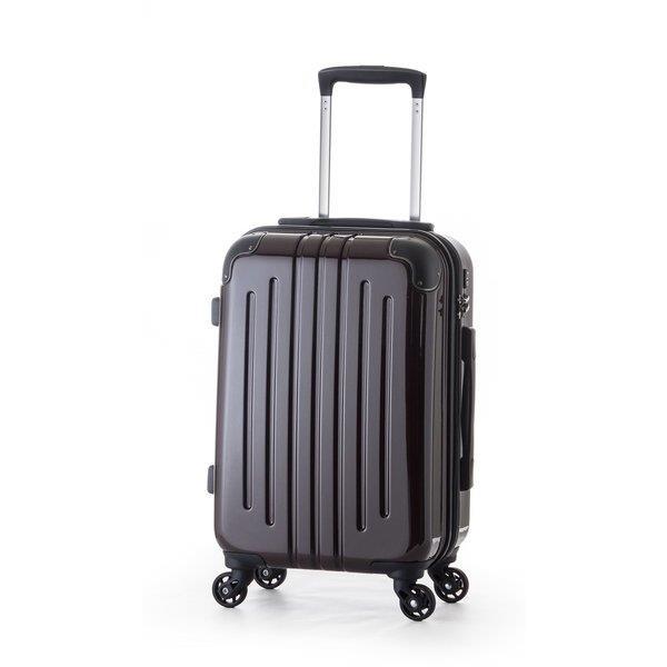 A.L.I(アジアラゲージ) スーツケース・キャリーケース ハードキャリー(88L)ADY-5028-BB ブラックブラッシュ