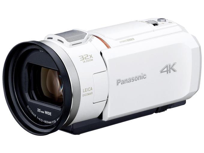 Panasonic ビデオカメラ HC-VZX1M-W [ホワイト]