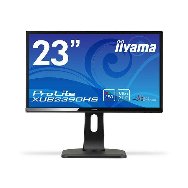 IIYAMA 液晶モニタ・液晶ディスプレイ ProLite XUB2390HS-3 XUB2390HS-B3 [23インチ マーベルブラック]