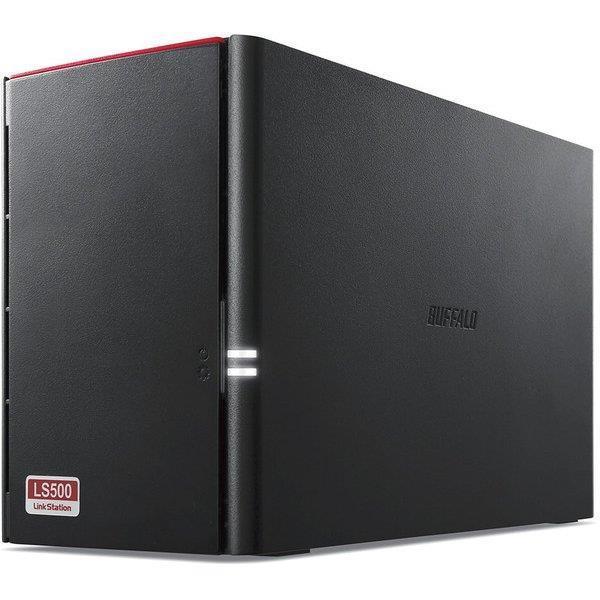 BUFFALO 外付けハードディスク LinkStation LS520D0402G