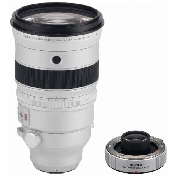 FUJIFILM レンズ XF1.4X TC F2 WRフジノンレンズ XF200mmF2 R LM OIS WR