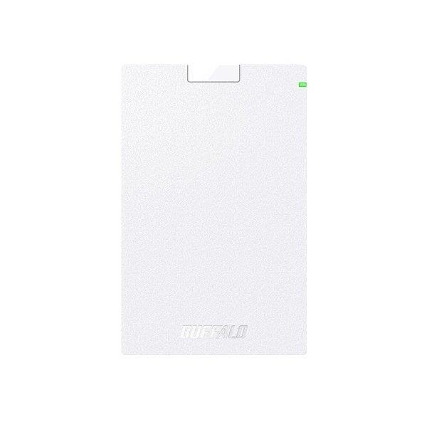 BUFFALO 外付けハードディスク MiniStation HD-PCG2.0U3-GWA [ホワイト]