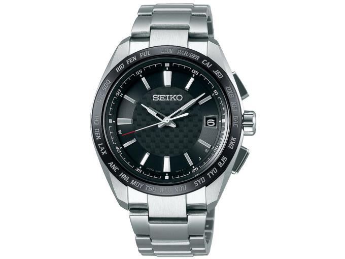 SEIKO 男性向け腕時計 ブライツ ソーラー電波時計 SAGZ091