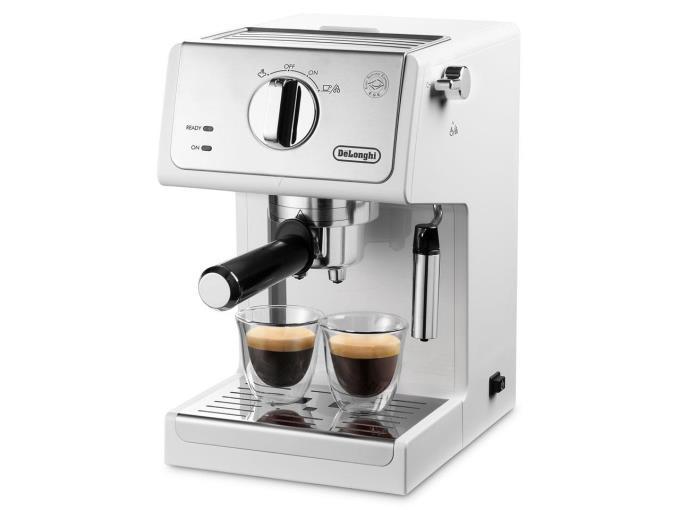デロンギ コーヒーメーカー アクティブ ECP3220J-W [トゥルーホワイト]