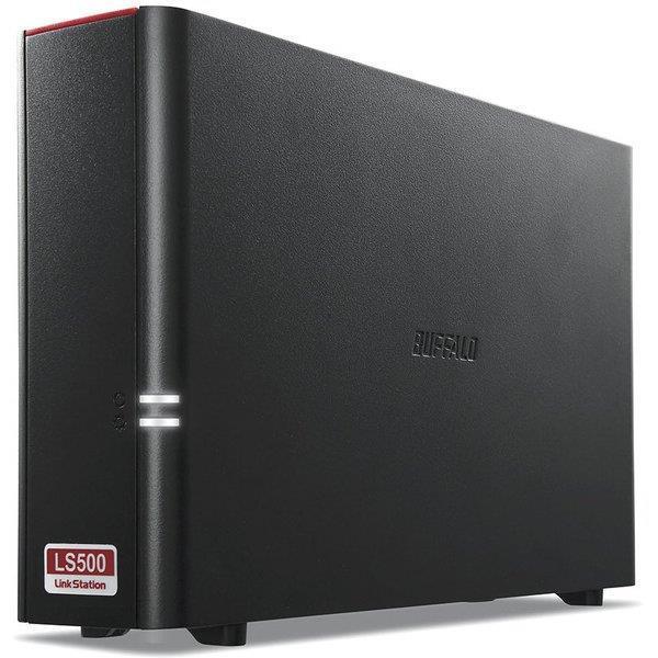 BUFFALO 外付けハードディスク LinkStation LS510D0201G