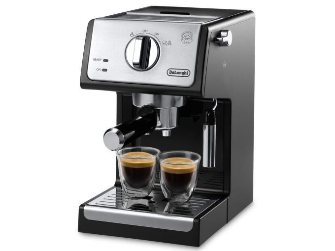 デロンギ コーヒーメーカー ECP3220J-BKアクティブ ECP3220J-BK [インテンスブラック]