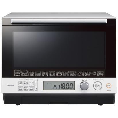 TOSHIBA 電子レンジ・オーブンレンジ 石窯ドーム ER-SD100-W