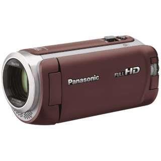 Panasonic ビデオカメラ HC-W590M-T [ブラウン]