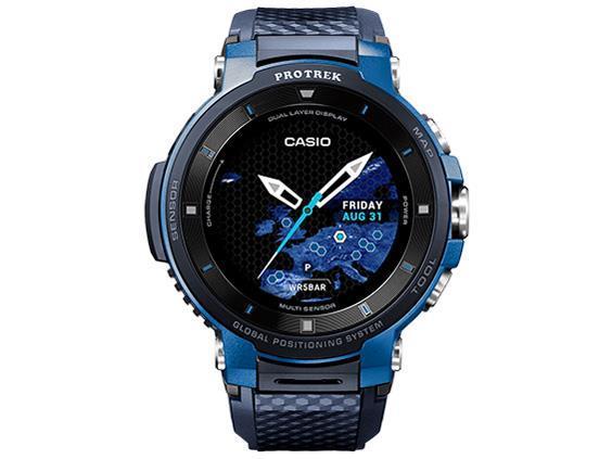 CASIO 男性向け腕時計 Smart Outdoor Watch PRO TREK Smart WSD-F30-BU [ブルー]