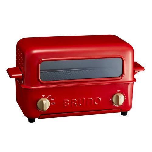 イデアインターナショナル トースター BRUNO トースターグリル BOE033-RD [レッド]