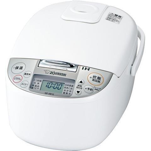ZOJIRUSHI 炊飯器 極め炊き NP-XB10-WA