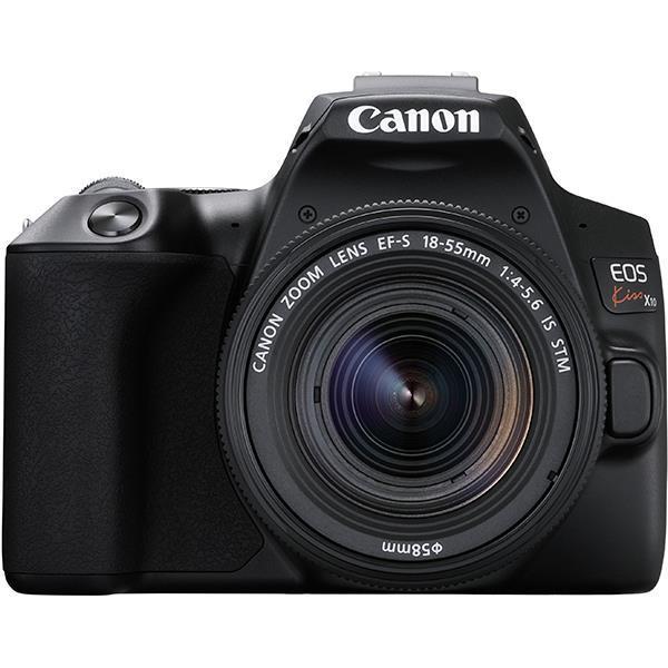 CANON デジタル一眼カメラ EOS Kiss X10 EF-S18-55 IS STM レンズキット [ブラック]
