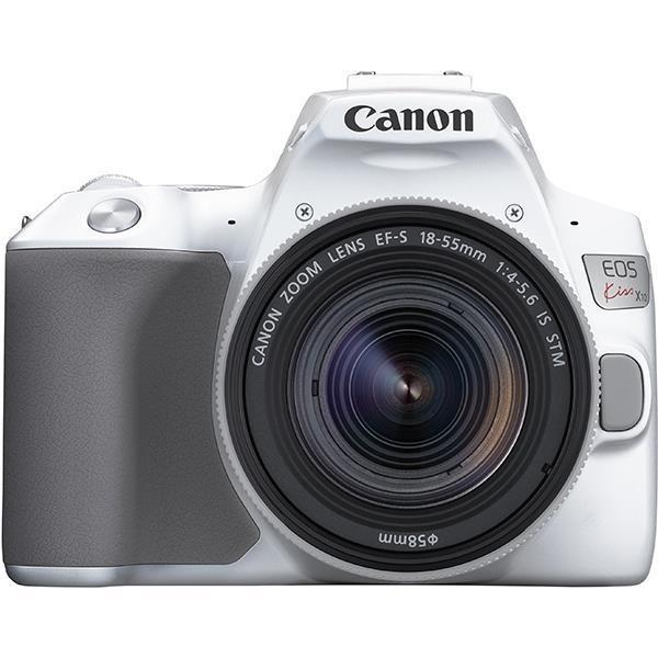 CANON デジタル一眼カメラ EOS Kiss X10 EF-S18-55 IS STM レンズキット [ホワイト]