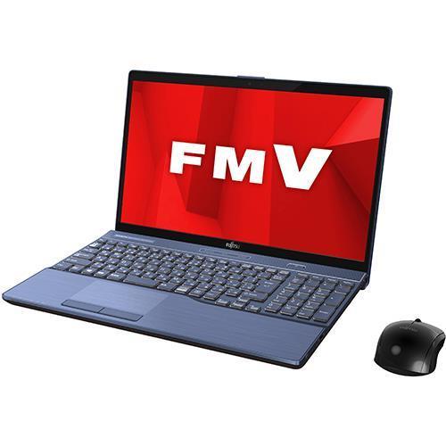 FUJITSU ノートパソコン FMV LIFEBOOK AH77/D1 FMVA77D1L [メタリックブルー]