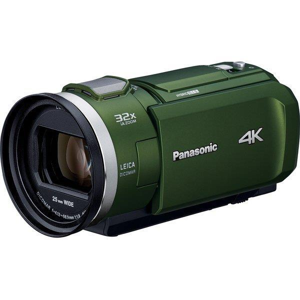 Panasonic ビデオカメラ HC-VX2M-G [フォレストカーキ]