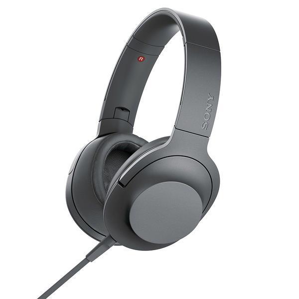 SONY ヘッドホン・イヤホン h.ear on 2 MDR-H600A (B) [グレイッシュブラック]
