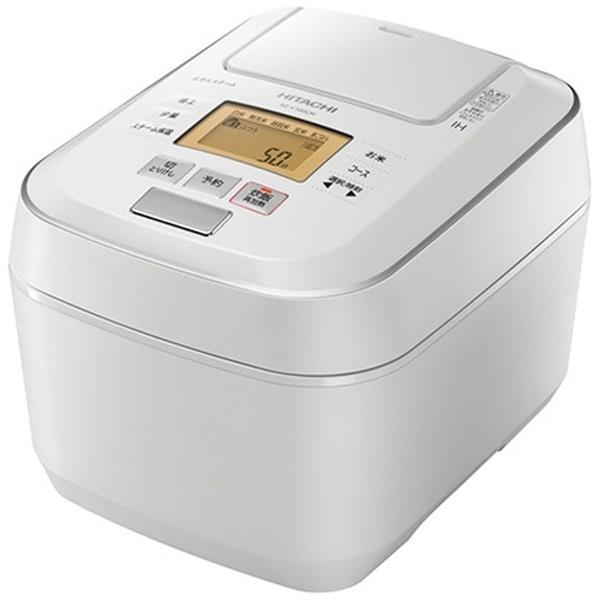 HITACHI 炊飯器 沸騰鉄釜 ふっくら御膳 RZ-V100CM(W) [パールホワイト]