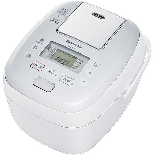 Panasonic 炊飯器 おどり炊き SR-PB109-W