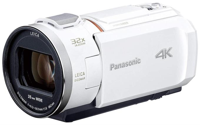 Panasonic ビデオカメラ HC-VZX2M-W [ピュアホワイト]