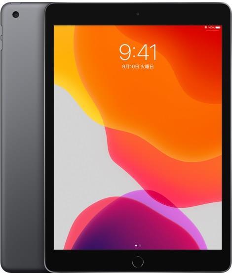 APPLE iPAD(Wi-Fiモデル) iPad 10.2インチ 第7世代 Wi-Fi 32GB 2019年秋モデル MW742J/A [スペースグレイ]