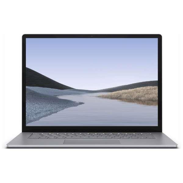 Microsoft  ノートパソコン Surface Laptop 3 15インチ VGZ-00018 [プラチナ]