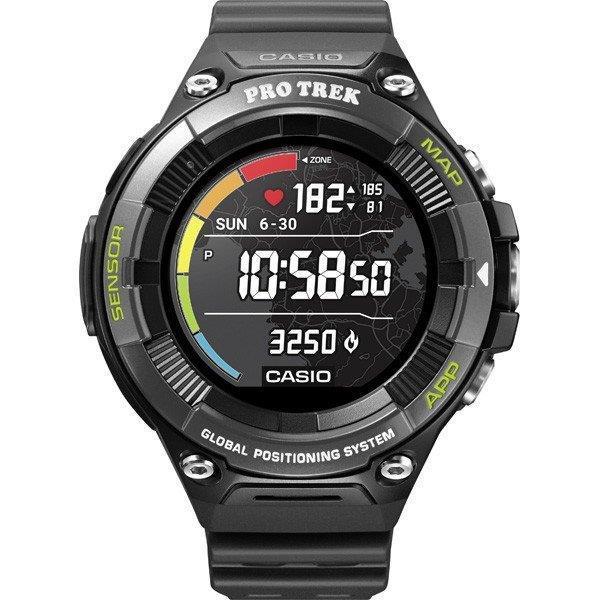 CASIO 男性向け腕時計 Smart Outdoor Watch PRO TREK Smart WSD-F21HR-BK [ブラック]