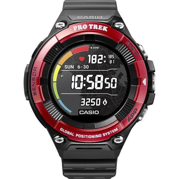 CASIO 男性向け腕時計 Smart Outdoor Watch PRO TREK Smart WSD-F21HR-RD [レッド]