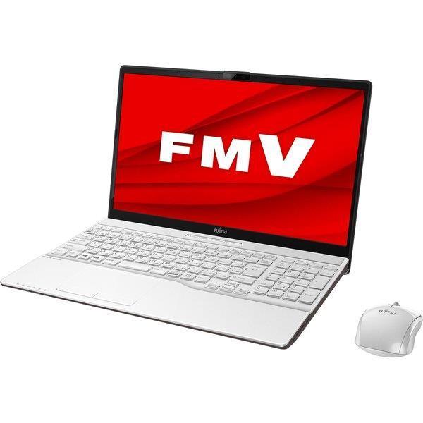 FUJITSU ノートパソコン FMV LIFEBOOK AH77/D3 FMVA77D3W [プレミアムホワイト]